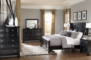 modern bedroom interior design with black wood bedroom