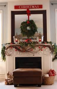 Christmas Fireplace Decorating Ideas A Christmas Mantle Collection Domestic Superhero