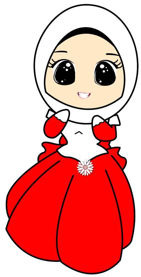 freebies doodle muslimah comel fizgraphic freebies doodle muslimah gaun comel