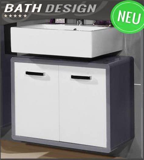 badezimmermöbel weiß badezimmer badezimmer unterschrank wei 223 hochglanz