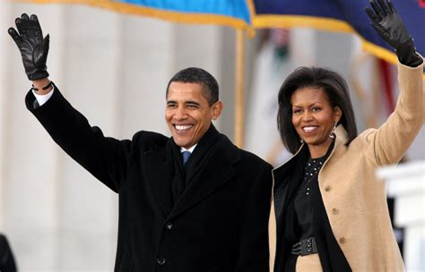 biography of barack obama and michelle obama obama gushes over wife michelle after her moving dnc