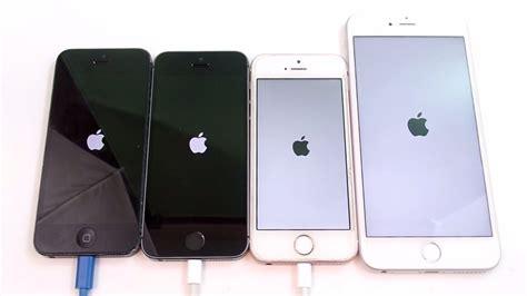 iphone 5 vs iphone 5s vs iphone se vs iphone 6s ios 10 2