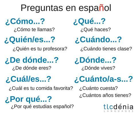 preguntas de español 11003 best images about espa 241 ol on pinterest literatura