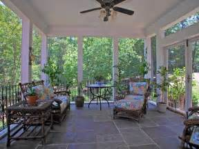 cottage porch with doors screened porch in