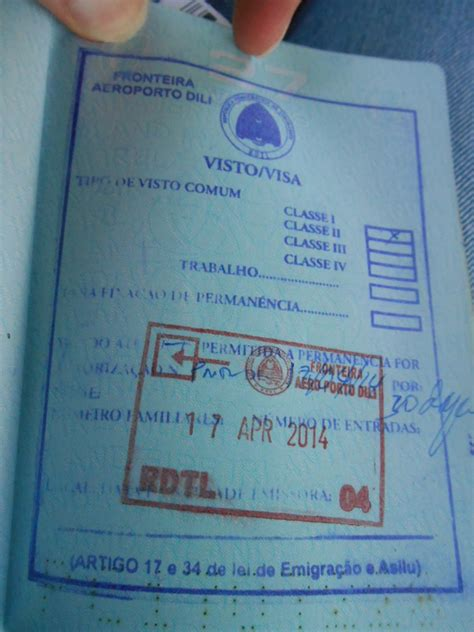 How To Get A Visa - how to get an east timor visa on arrival at dili airport
