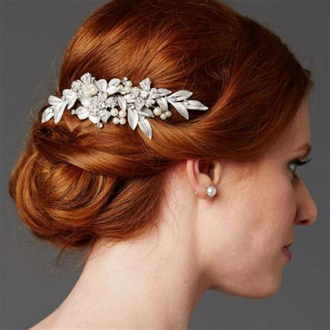 Wedding Hair Accessories Combs by Cassia Bridal Hair Comb Zaphira Bridal
