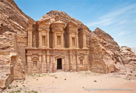 imagenes jordania viaje a jordania visita a petra sin turistas con