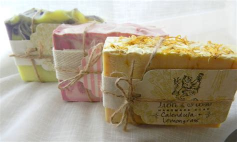 How To Wrap Handmade Soap - handmade soap october 2013