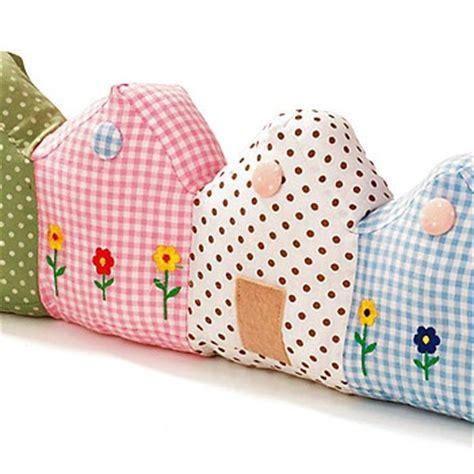 pattern for house door stop houses door stop sewing pinterest