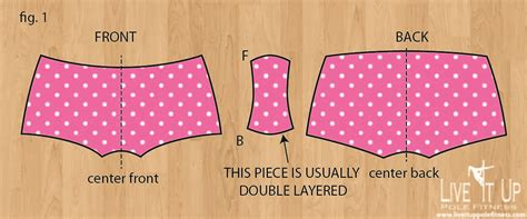 pattern making for shorts diy make you own pole fitness shorts pattern from a pair
