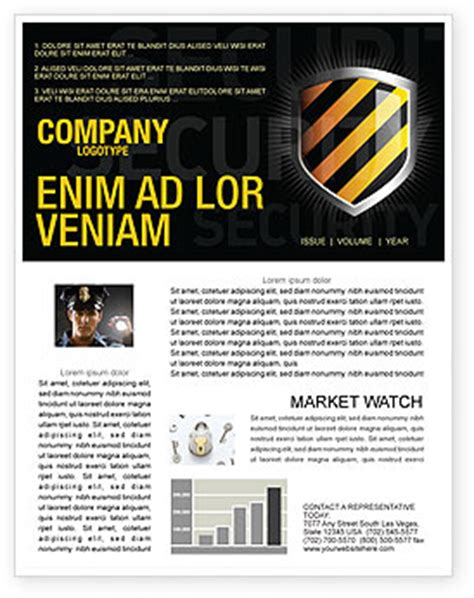 Occupational Safety Newsletter Template For Microsoft Word Adobe Indesign 03946 Download Now Safety Newsletter Template