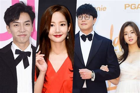 lee seung gi host lee seung gi park min young and more to host 33rd golden