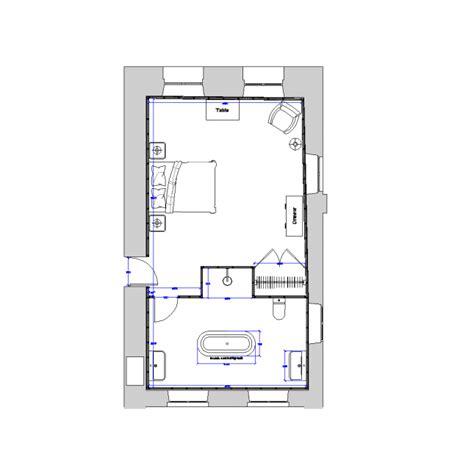 master bedroom ensuite layout master bedroom and en suite design dwg cad layout