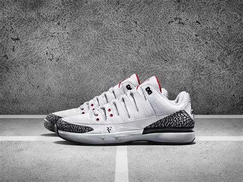 roger federer s newest nike tennis shoe looks just like