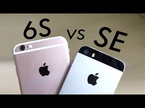 iphone 6s vs iphone se in 2019 comparison review