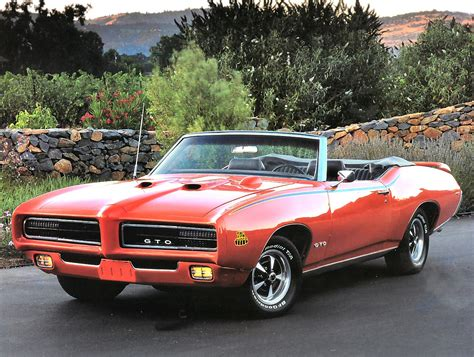 1969 Pontiac Gto Judge 1969 Pontiac Gto The Judge Convertible Orange Fvl Cars