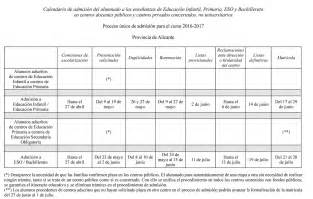 Calendario 2018 Vigo Calendario Escolar 2016 2017 En La Comunidad Valenciana
