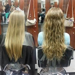 before and after photos of permant waves with frizzy hair perms on pinterest loose perm long perm and perms