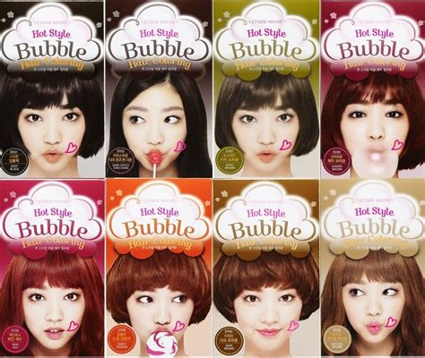 Semir Rambut Shiseido etude house style hair coloring shoo in