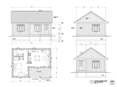 Nb Superinsulated House Free House Plans One Bedroom