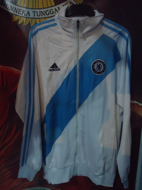 Jaket Hoodie Bola Chelsea 13 jaket bola barcelona manchester city liverpool