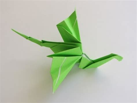 Origami Dragonfly Step By Step - simple origami dragons images