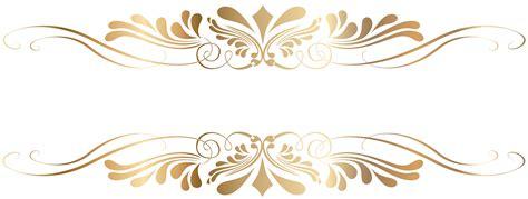gold decorative elements vector premium gold vintage baroque frame scroll ornament