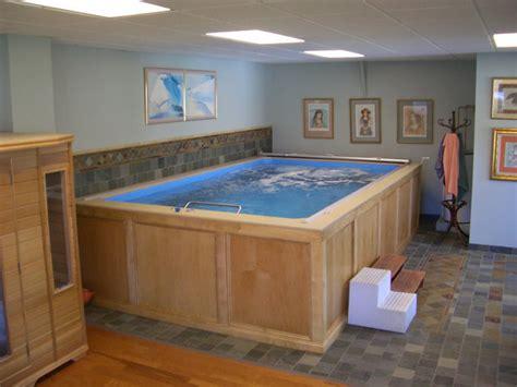 original endless pools 174 basement pool traditional