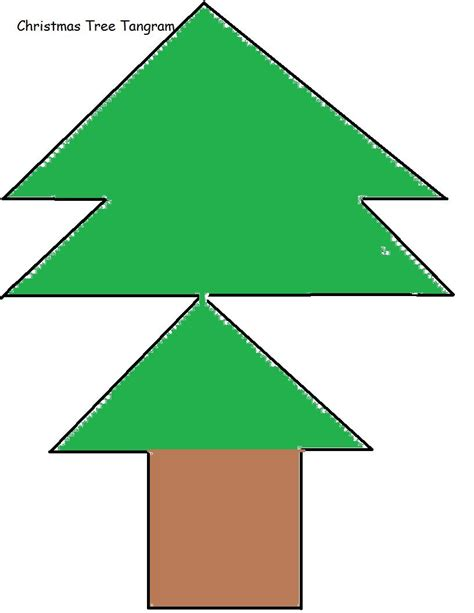 printable christmas tree tangram printable christmas tangram puzzles
