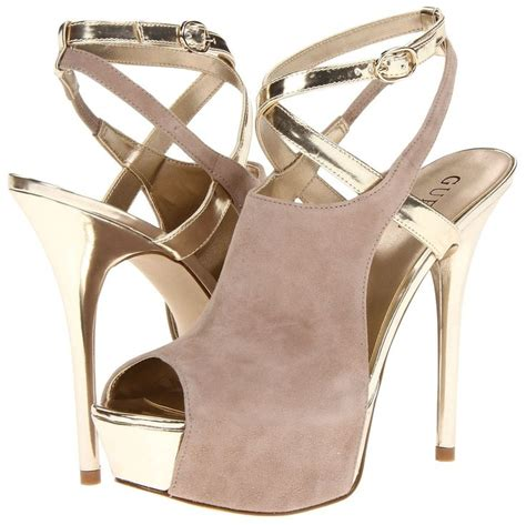 guess high heel shoes details about guess giga womens dress high heel ankle