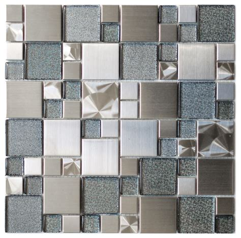 bathroom tile accent wall sparkling mosaic tile for wall decoration with 3d surfaces effect and glossy