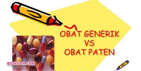 Obat Generik inilah perbedaan obat paten dan generik yang quot wajib