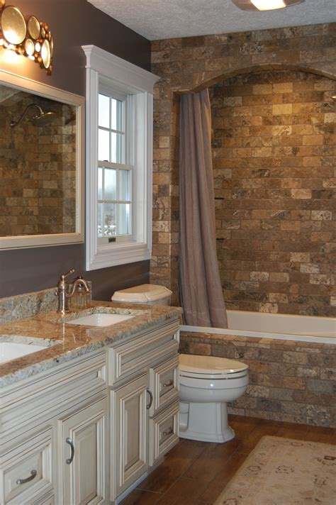 color brick brick  vanity wall  extend