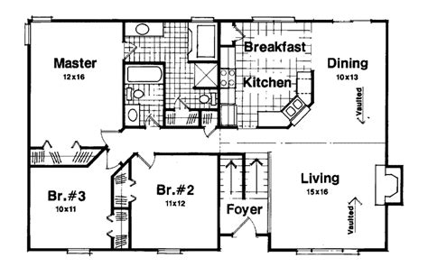 Split Level Plan by Woodland Park Split Level Home Plan 013d 0005 House