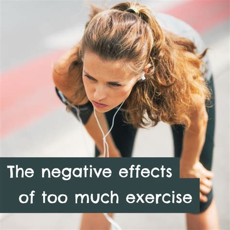 8 Negative Effects Of Exercise by The Negative Effects Of Much Exercise Together