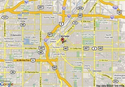 denver city map map of marriott denver city center denver