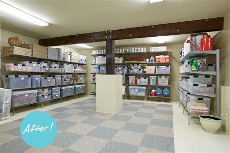 basement storage ideas a sized basement gets an
