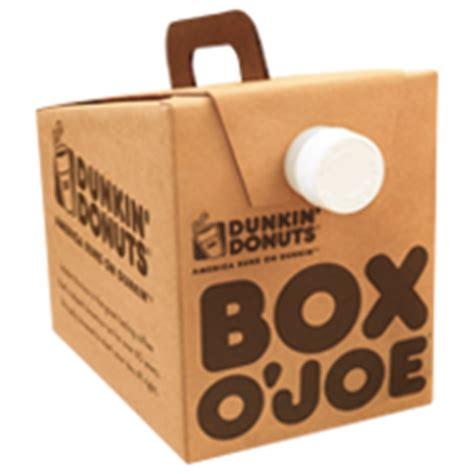 Box O? Joe®   Dunkin' Donuts