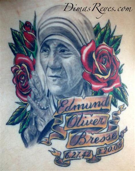 mother teresa tattoo dimas reyes tattoos religious praying