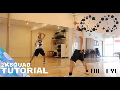 tutorial dance infinite back tutorial infinite 인피니트 the eye 태풍 dance tutorial