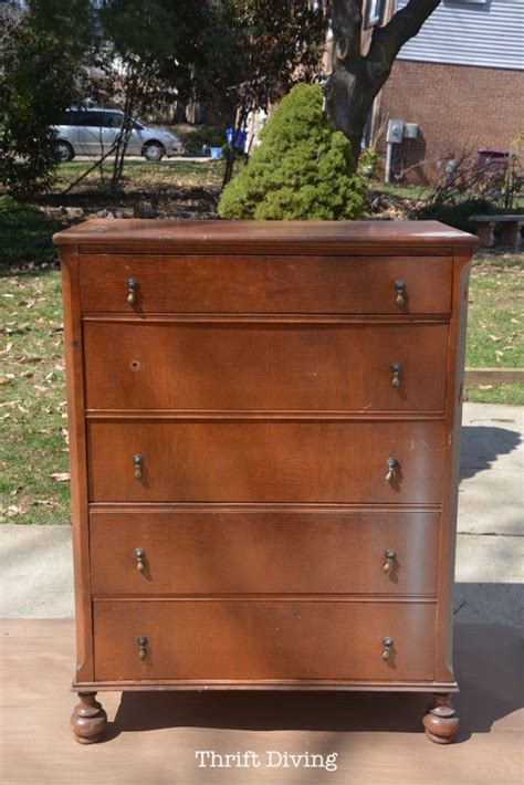ugly bedroom furniture save an ugly dresser a chic dresser makeover painted