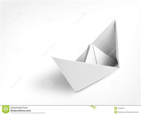 Paper Ship Origami - origami paper ship royalty free stock photography image