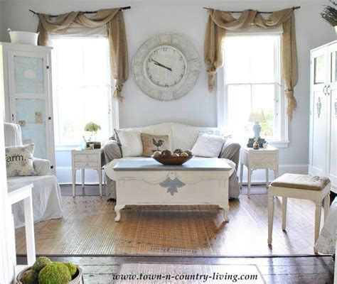 country style windows country style style window and burlap swag