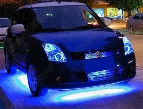 7 color led car glow underbody system neon lights
