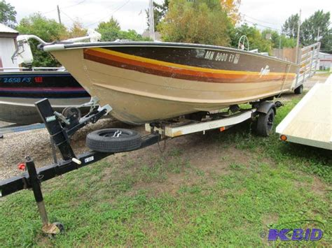 1984 sylvan boats for sale 1984 sylvan 16 boat trailer and motor october auction