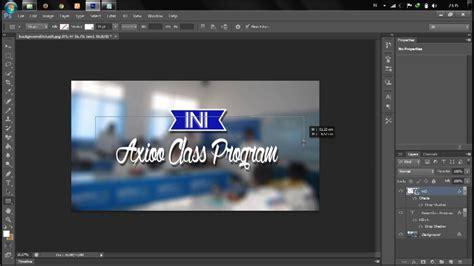 membuat logo ini talkshow tutorial membuat logo ini talkshow by ps cs6 youtube