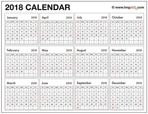 printable calendar 2018 large numbers printable calendar large numbers printable calendar 2018