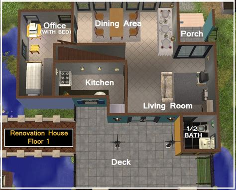 Sims 2 House Floor Plans | the 23 best sims 2 floor plans home building plans 26823