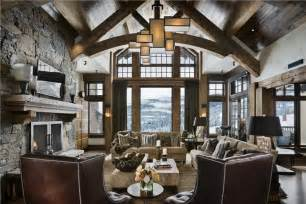 Rustic Living Room Remodel Open Country Rustic Living Family Room By Jerry Locati