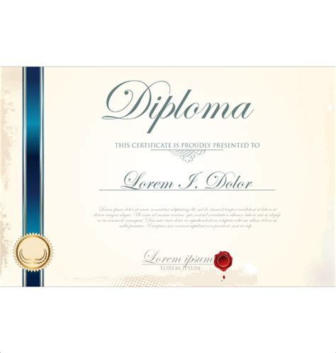 certificate layout design template best certificate template design vector 01 vector cover